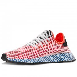 "Кроссовки Adidas Deerupt Runner ""Red/Blue"""