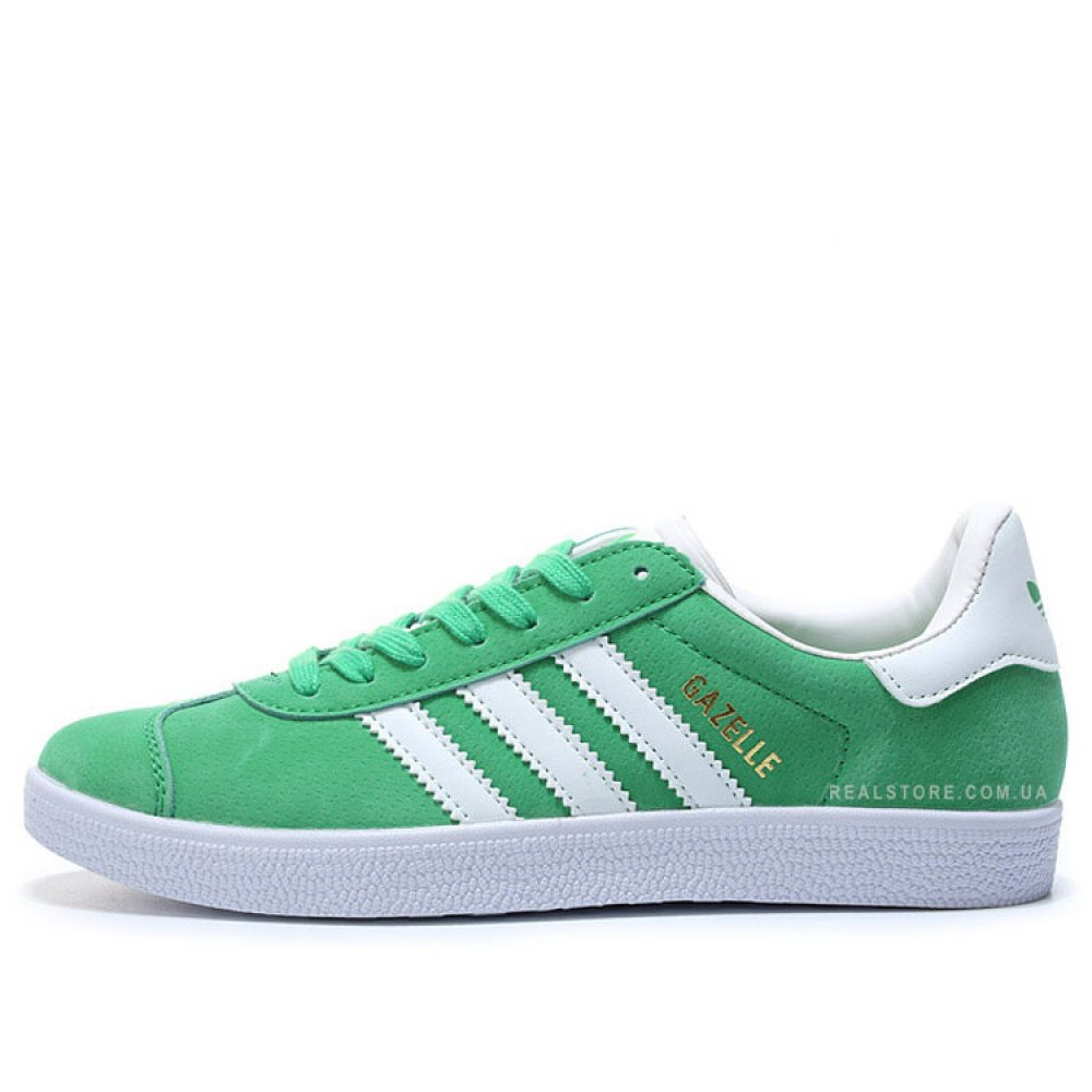 "Кроссовки Adidas Gazelle ""Lime/White"""