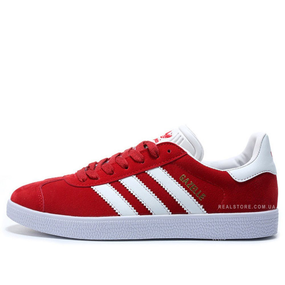"Кроссовки Adidas Gazelle ""Red/White"""