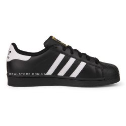 "Кроссовки Adidas Superstar ""Black/White Stripes"""