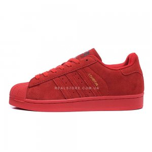 "Кроссовки Adidas Superstar 80s City Pack London ""Red"""