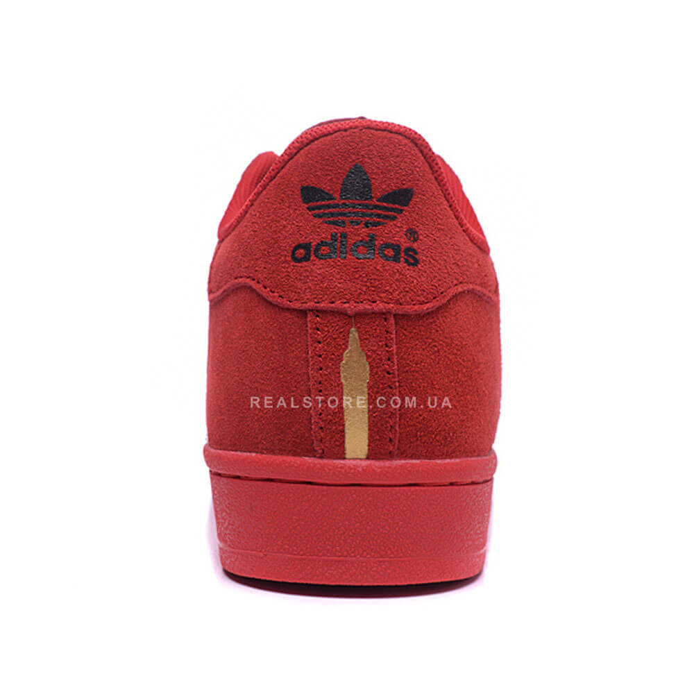 """Кроссовки Adidas Superstar 80s City Pack London """"Red"""""""
