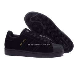 "Кроссовки Adidas Superstar 80s City Pack New York ""Black"""
