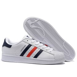 "Кроссовки Adidas Superstar ""French Stripes"""