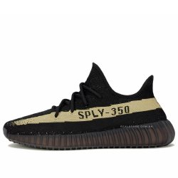 "Кроссовки Adidas Yeezy Boost 350 V2 ""Black/Green"""