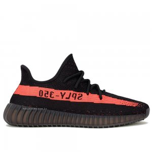 "Кроссовки Adidas Yeezy Boost 350 V2 ""Black/Red"""