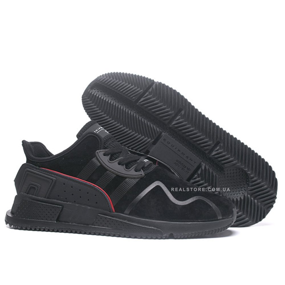 "Кроссовки Adidas EQT Cushion ADV Suede ""All Black"""