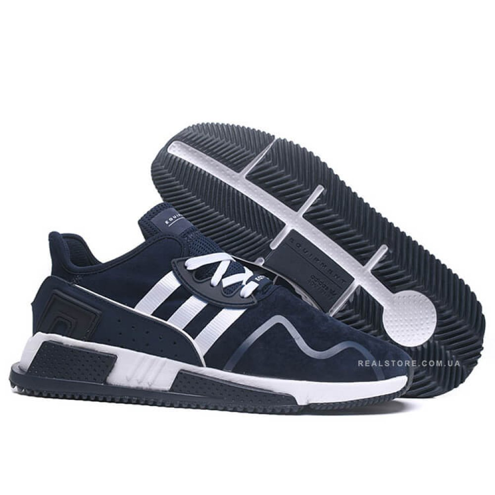 "Кроссовки Adidas EQT Cushion ADV Suede ""Navy/White"""