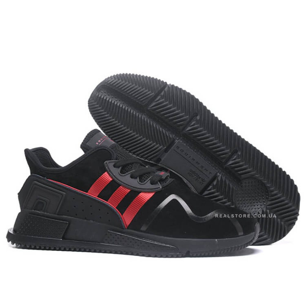 "Кроссовки Adidas EQT Cushion ADV Suede ""Red Stripes"""