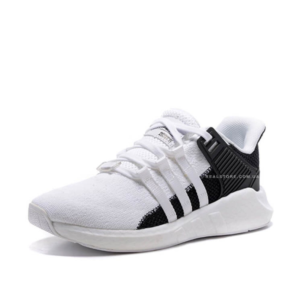 """Кроссовки Adidas EQT Support 93/17 Boost """"Core White"""""""