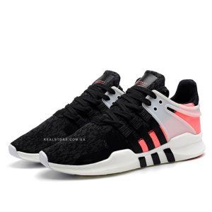 "Кроссовки Adidas EQT Support ADV Primeknit ""Black/Turbo Red"""