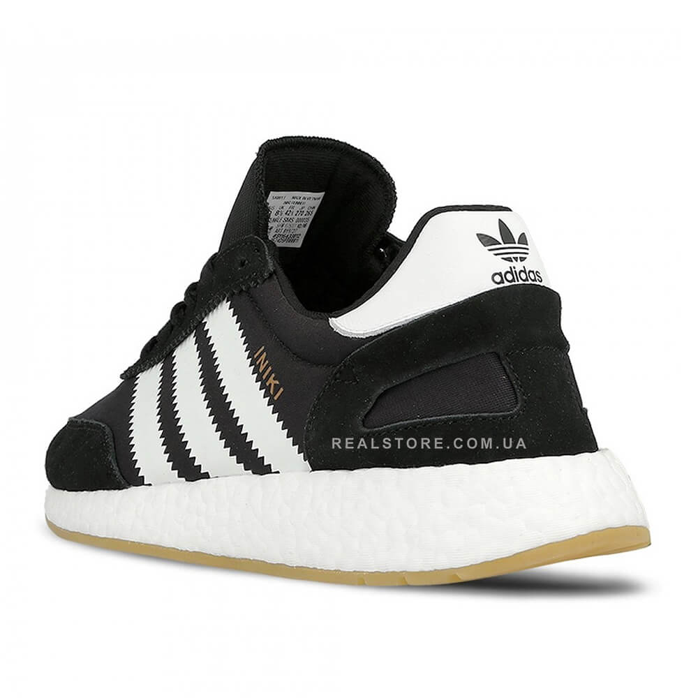 "Кроссовки Adidas Iniki Runner Boost ""Black/White"""