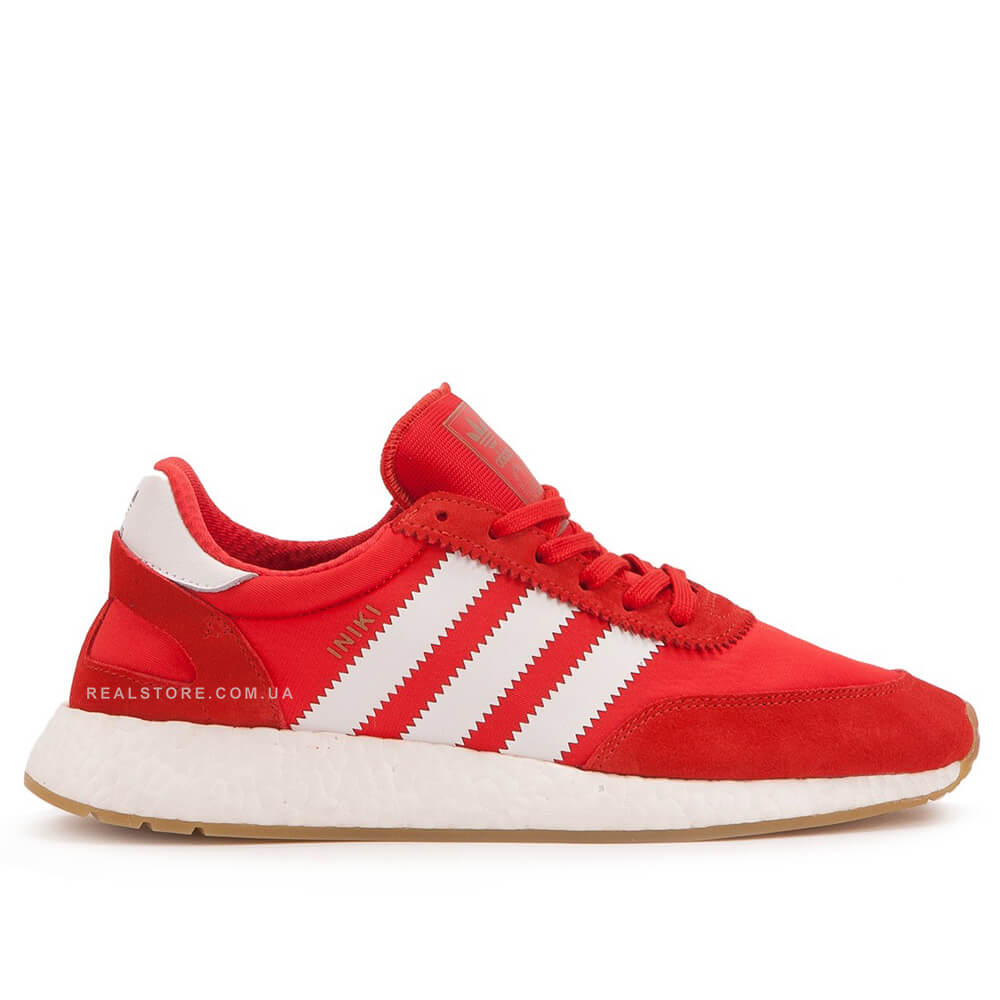 "Кроссовки Adidas Iniki Runner Boost ""Red/White"""