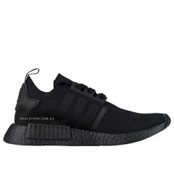 "Кроссовки Adidas NMD R1 Primeknit ""All Black"""