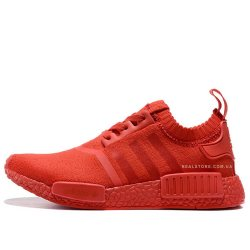"Кроссовки Adidas NMD R1 Primeknit ""Triple Red"""