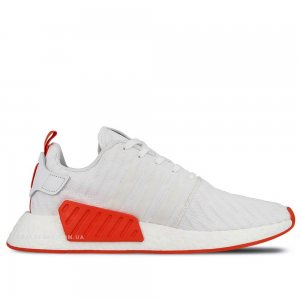"Кроссовки Adidas NMD R2 PK ""White/Red"""