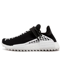 "Кроссовки Pharrell x Chanel x Adidas NMD Hu ""Black/White"""
