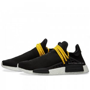 "Кроссовки Pharrell x Adidas NMD Human Race ""Core Black"""