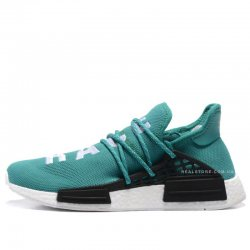 "Кроссовки Pharrell x Adidas NMD Human Race ""Green/White"""