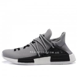 "Кроссовки Pharrell x Adidas NMD Human Race ""Grey/White"""