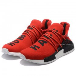 "Кроссовки Pharrell x Adidas NMD Human Race ""Red/White"""