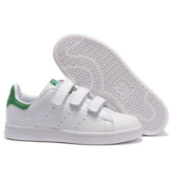 "Кроссовки Adidas Stan Smith CF ""White/Green"""