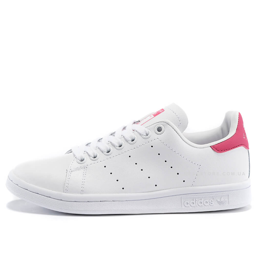 "Кроссовки Adidas Stan Smith Leather ""White/Pink"""