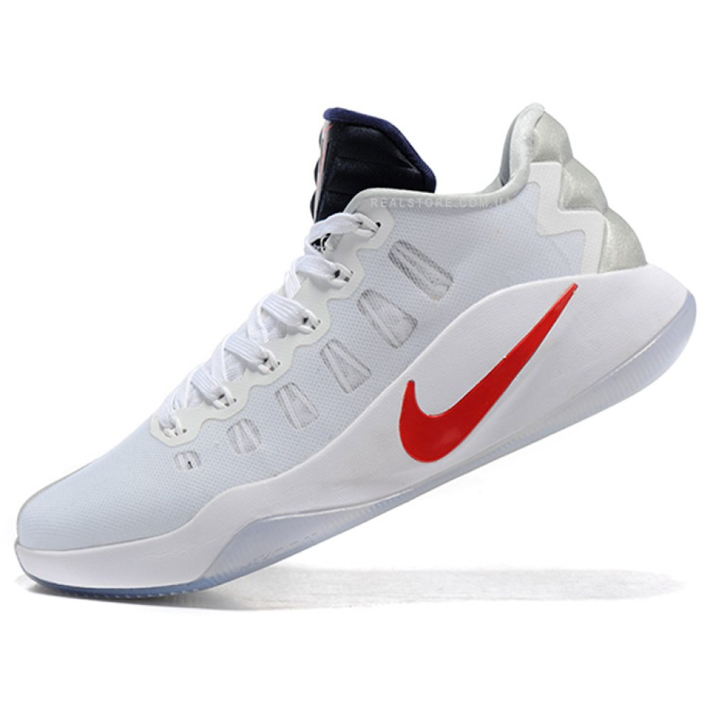 "Кроссовки Nike Hyperdunk 2016 Low ""White/Red/Ice"""