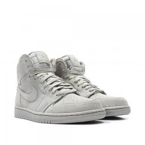 "Кроссовки Nike Air Jordan 1 Suede ""Grey"""