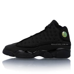 "Кроссовки Nike Air Jordan 13 Retro BG ""Black Cat"""
