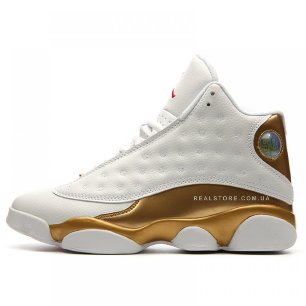 "Кроссовки Nike Air Jordan 13 Retro DMP ""White/Gold"""