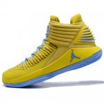 "Кроссовки Nike Air Jordan 32 ""Yellow/Blue"""