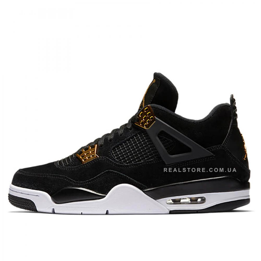 "Кроссовки Nike Air Jordan 4 Retro Royalty ""Black/White"""