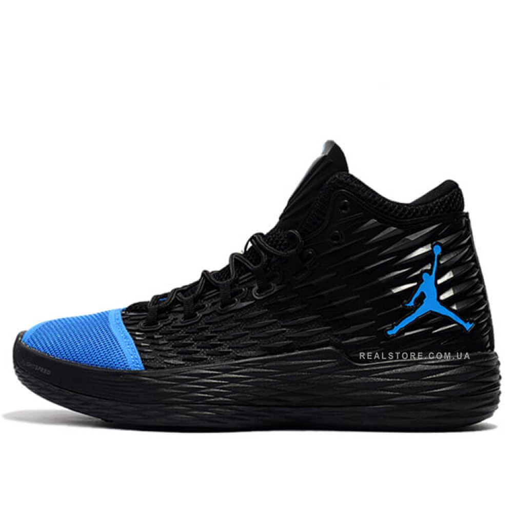 "Кроссовки Nike Air Jordan Melo 13 ""Black/Blue"""