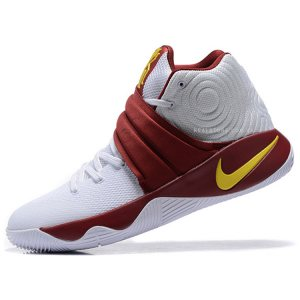 "Кроссовки Nike Kyrie 2 ""White/Bordo"""