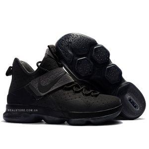 "Кроссовки Nike LeBron 14 ""All Black"""
