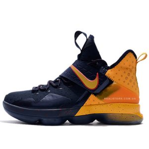 "Кроссовки Nike LeBron 14 ""Blue/Yellow"""