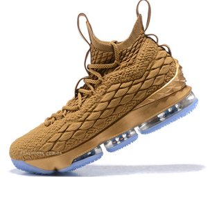 "Кроссовки Nike LeBron 15 ""Gold/Ice"""