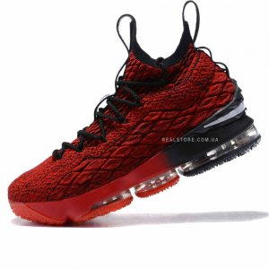 "Кроссовки Nike LeBron 15 ""Red/Black"""