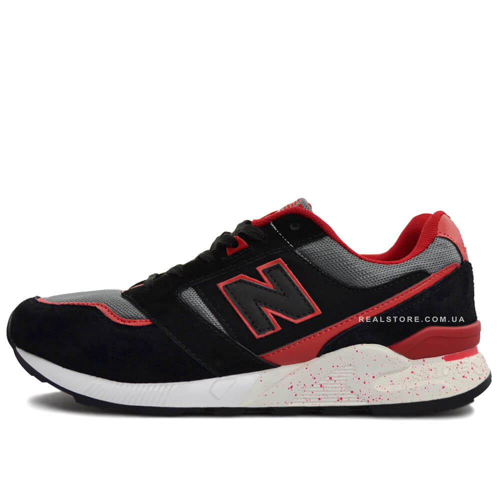 "Кроссовки New Balance M678HFH ""Black/Red/White"""