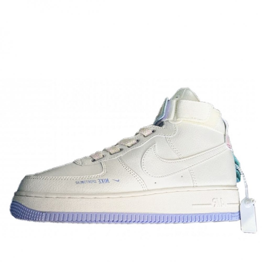 Кроссовки Nike Air Force 1 High Beige Violet