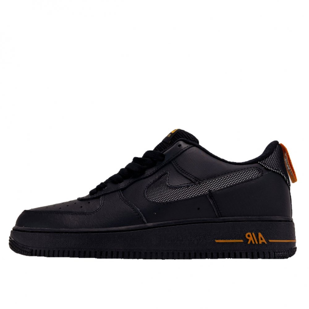 Кроссовки Nike Air Force 1 Low Black Orange