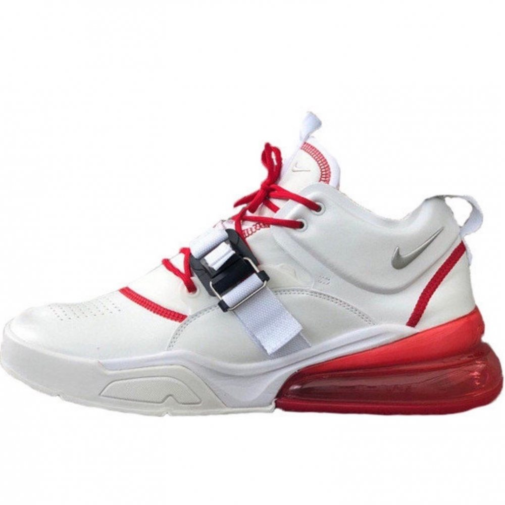 """Кроссовки Nike Air Force 270 """"White Red"""""""