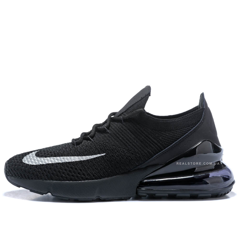 "Кроссовки Nike Air Max 270 Flyknit ""Black"""