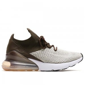 "Кроссовки Nike Air Max 270 Flyknit ""Brown/White"""