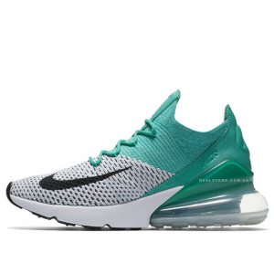 "Кроссовки Nike Air Max 270 Flyknit ""Clear Emerald"""