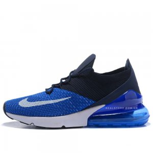 "Кроссовки Nike Air Max 270 Flyknit ""Navy/Blue"""