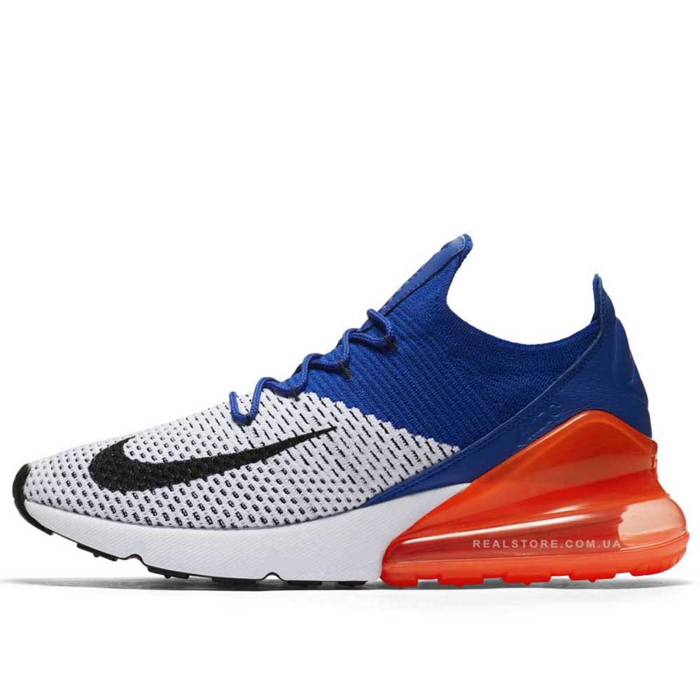 "Кроссовки Nike Air Max 270 Flyknit ""Racer Blue"""