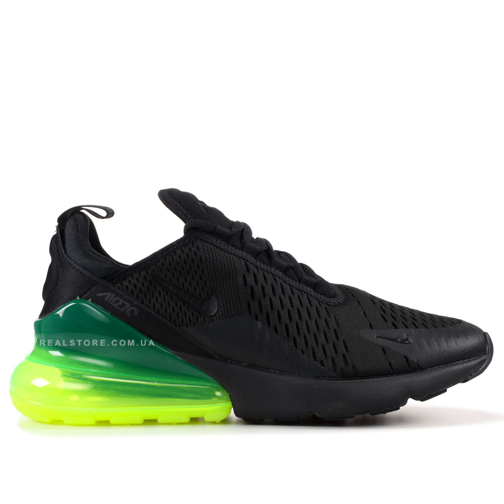 "Кроссовки Nike Air Max 270 ""Black/Volt"""