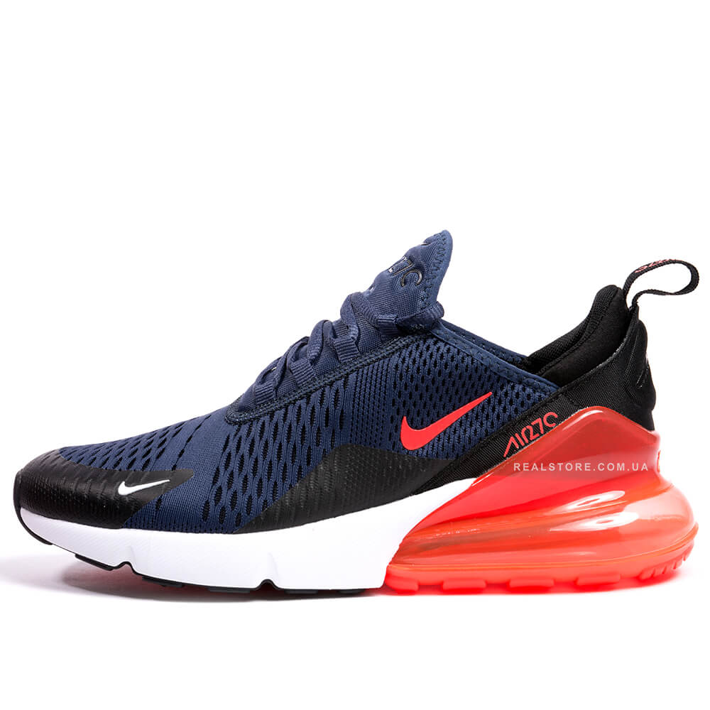 """Кроссовки Nike Air Max 270 """"Blue/White/Red"""""""